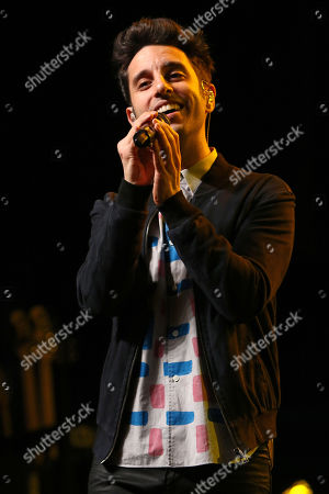 Stock Photo of Chad Vaccarino of A Great Big World performs at the Fresh 102.7 Fall Fest at the Theater at Madison Square Garden, in New York