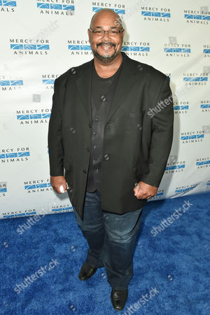 Kevin Michael Richardson arrives at Mercy For Animals' Hidden Heroes Gala held at Unici Casa, in Culver City, Calif