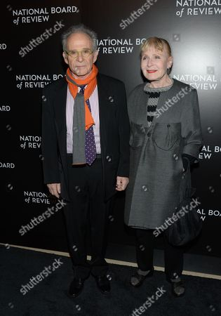 Ron Rifkin and wife Iva Rifkin attend the National Board of Review awards gala at Cipriani 42nd Street, in New York