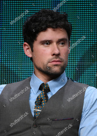 """Benjamin Hollingsworth participates in the """"Code Black"""" panel at the CBS Summer TCA Tour at the Beverly Hilton Hotel, in Beverly Hills, Calif"""