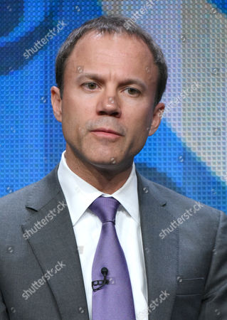 President, CBS News, David Rhodes participates in the CBS News panel at the CBS Summer TCA Tour at the Beverly Hilton Hotel, in Beverly Hills, Calif