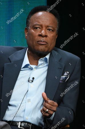 """William Allen Young participates in the """"Code Black"""" panel at the CBS Summer TCA Tour at the Beverly Hilton Hotel, in Beverly Hills, Calif"""
