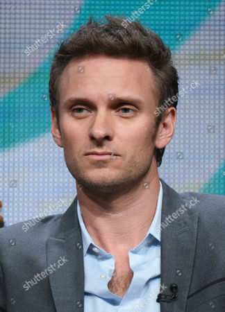 "Ryan McGarry participates in the ""Code Black"" panel at the CBS Summer TCA Tour at the Beverly Hilton Hotel, in Beverly Hills, Calif"