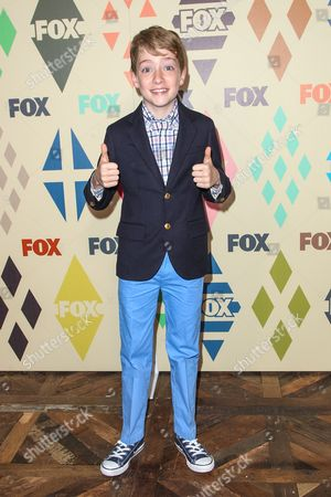 Connor Kalopsis attends the 2015 Summer TCA - Fox All-Star Party at Soho House on in Los Angeles
