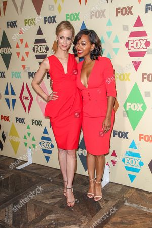 Laura Regan, left, and Meagan Good attend the 2015 Summer TCA - Fox All-Star Party at Soho House on in Los Angeles