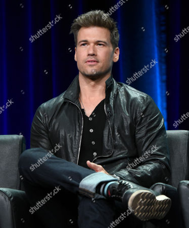Nick Zano participates in the 'Minority Report' panel at the Fox Television Critics Association Summer Tour at the Beverly Hilton Hotel, in Beverly Hills, Calif