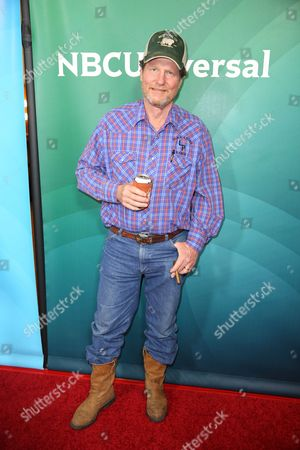 """Mike """"Rooster"""" McConaughey arrives at the NBCUniversal Television Critics Association Summer Tour at the Beverly Hilton Hotel, in Beverly Hills, Calif"""