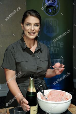 """Chef Vivian Howard smiles during """"A Chef's Life"""" dessert reception at the PBS 2015 Summer TCA Tour held at the Beverly Hilton Hotel, in Beverly Hills, Calif"""