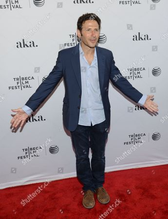 """Actor Mark Feurstein attends the Tribeca Film Festival world premiere of """"Meadowland"""" at the SVA Theatre, in New York"""