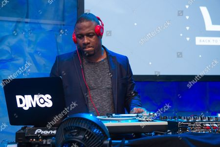 DJ MOS attends the 2016 Art For Life Benefit, presented by Russell Simmons' RUSH Philanthropic Arts Foundation, at Fairview Farms,, in Water Mill, New York
