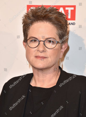 Phyllis Nagy arrives at the BAFTA Awards Season Tea Party at the Four Seasons Hotel, in Los Angeles