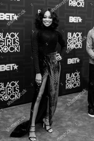 Monica Brown is seen at 2016 Black Girls Rock! at New Jersey Performing Arts Center on Friday, April, 1, 2016 in Newark, NJ