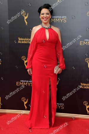 Editorial photo of 2016 Creative Arts Emmy Awards - Arrivals - Night Two, Los Angeles, USA