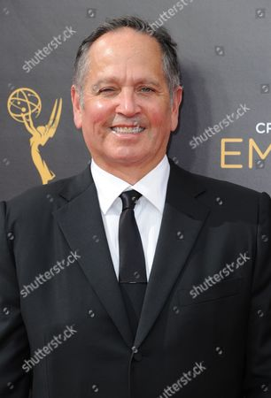 Stock Image of Kevin Kay arrives at night two of the Creative Arts Emmy Awards at the Microsoft Theater, in Los Angeles