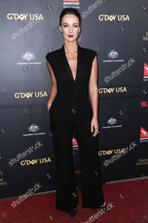 Stock Picture of Lydia Sarks attends the 2016 G'Day USA LA Gala held at Vibiana, in Los Angeles