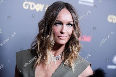 Stock Photo of Sharni Vinson attends the 2016 G'Day USA LA Gala held at Vibiana, in Los Angeles