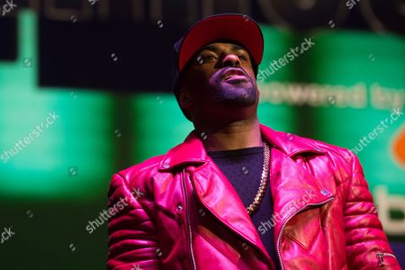 DJ Clue performs at Power 105.1's Powerhouse 2016 at Barclays Center, in Brooklyn, New York