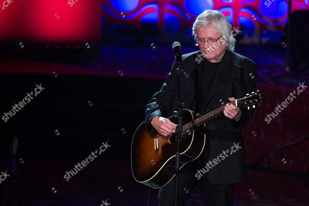 Chip Taylor performs at the 47th Annual Songwriters Hall of Fame Induction Ceremony and Awards Gala at the Marriott Marquis Hotel, in New York