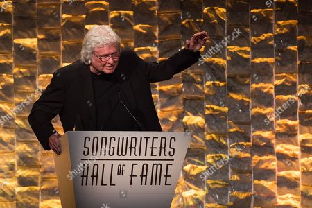 Chip Taylor attends the 47th Annual Songwriters Hall of Fame Induction Ceremony and Awards Gala at the Marriott Marquis Hotel, in New York