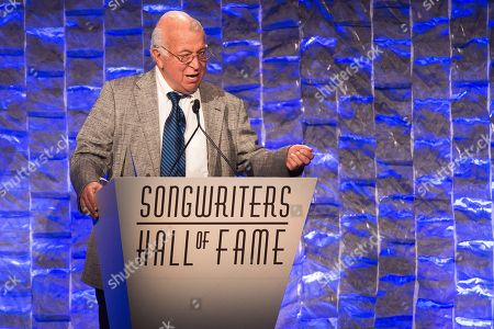 Editorial photo of 2016 Songwriters Hall Of Fame - Ceremony, New York, USA
