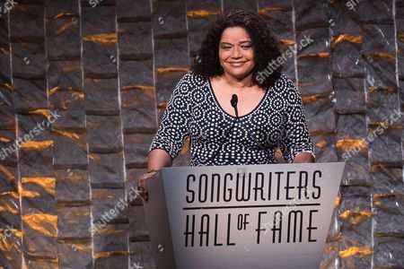 Stock Image of Jan Gaye attends the 47th Annual Songwriters Hall of Fame Induction Ceremony and Awards Gala at the Marriott Marquis Hotel, in New York