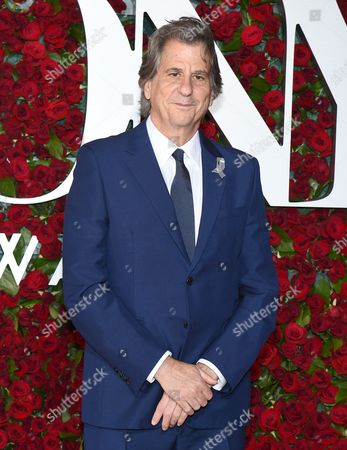 David Rockwell arrives at the Tony Awards at the Beacon Theatre, in New York