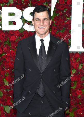 Ken Davenport arrives at the Tony Awards at the Beacon Theatre, in New York