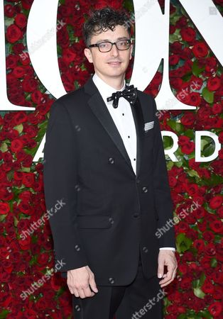 Stock Image of Beowulf Boritt arrives at the Tony Awards at the Beacon Theatre, in New York