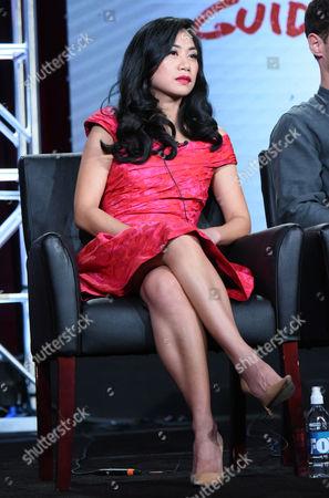 "Liza Lapira participates in a panel for ""Cooper Barrett's Guide to Surviving Life"" at the Fox Winter TCA, Pasadena, Calif"
