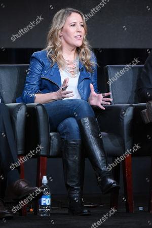 "Stock Photo of Executive Producer Ildy Modrovich participates in the ""Lucifer"" panel at the Fox Winter TCA, Pasadena, Calif"