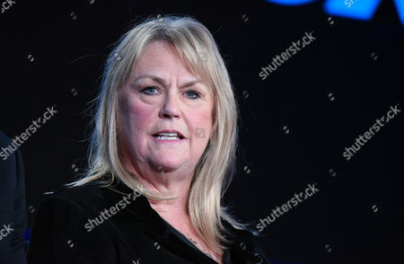 "Executive Producer Trish Kinane participates in the ""American Idol"" panel at the Fox Winter TCA, Pasadena, Calif"