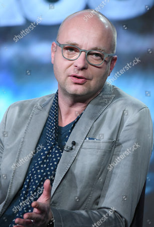 """Stock Photo of Creator/Executive Producer Jacco Doornbos participates in a panel for """"The Passion"""" at the Fox Winter TCA, Pasadena, Calif"""