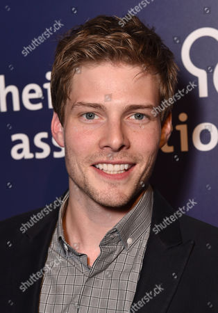 """Hunter Parrish attends the 23rd annual """"A Night at Sardi's"""" to benefit the Alzheimer's Association at the Beverly Hilton Hotel, in Beverly Hills, Calif"""