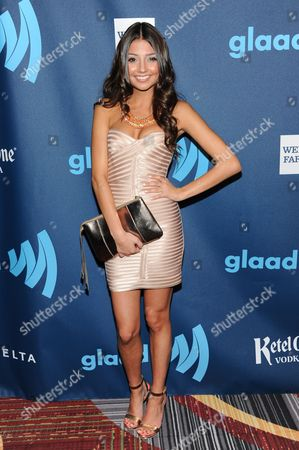 Actress Cristine Prosperi attends the 24th Annual GLAAD Media Awards at the Marriott Marquis on in New York