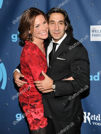 Countess LuAnn De Lesseps and boyfriend Jacques Azoulay attend the 24th Annual GLAAD Media Awards at the Marriott Marquis on in New York