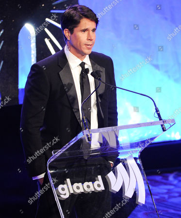 GLAAD president Herndon Graddick speaks at the 24th Annual GLAAD Media Awards at the Marriott Marquis on in New York