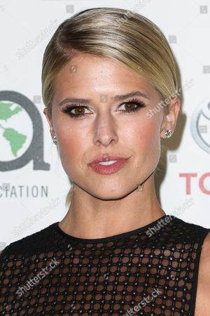 Sarah Wright Olsen attends the 25th Annual Environmental Media Awards held at Warner Bros. Studios, in Burbank, Calif