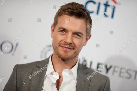 """Stock Photo of Rick Cosnett arrives at the 32nd Annual Paleyfest : """"Arrow & The Flash"""" held at The Dolby Theatre, in Los Angeles"""