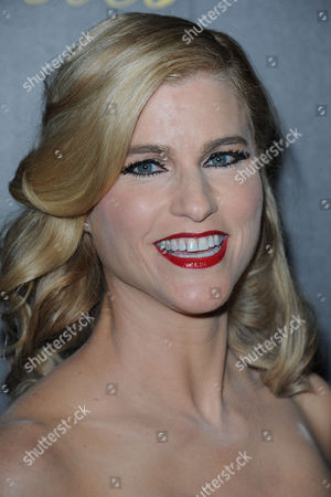 Stock Image of Heather Bosch arrives at the 38th Annual Gracie Awards Gala at the Beverly Hilton Hotel on in Beverly Hills, Calif