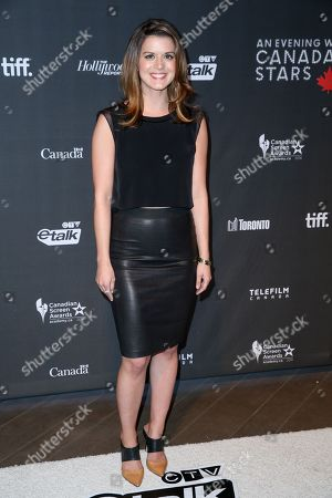 "Priscilla Faia arrives at the 3rd Annual ""An Evening With Canada's Stars"" the Four Seasons Hotel, in Beverly Hills, Calif"