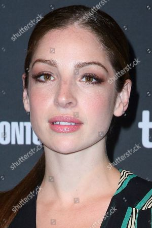 "Anna Hopkins arrives at the 3rd Annual ""An Evening With Canada's Stars"" the Four Seasons Hotel, in Beverly Hills, Calif"