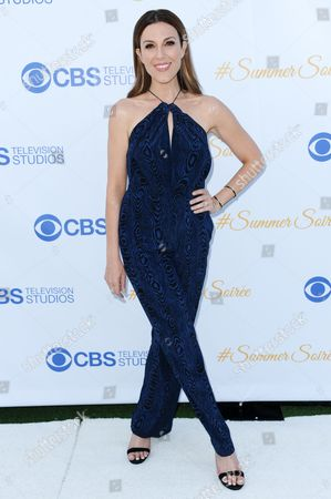 Thea Andrews arrives at the 3rd Annual CBS Television Studios Rooftop Summer Soiree held at the London Hotel, in West Hollywood, Calif