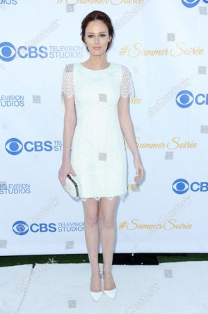 Alyssa Campanella arrives at the 3rd Annual CBS Television Studios Rooftop Summer Soiree held at the London Hotel, in West Hollywood, Calif