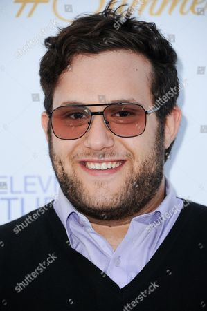 Stock Image of Ari Stidham arrives at the 3rd Annual CBS Television Studios Rooftop Summer Soiree held at the London Hotel, in West Hollywood, Calif