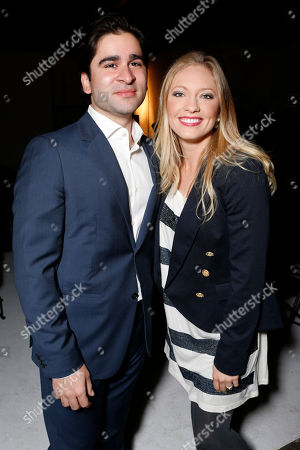 Stock Picture of UgandaProject's Hasan Askari and Jessica Lee Wrabel attend the 3rd Annual Witness Uganda Concert Presented by Siren Studios to Benefit UgandaProject on in Los Angeles, California
