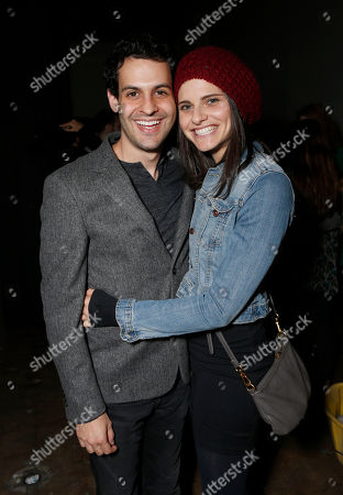 Andrew Leeds and Lindsey Kraft attend the 3rd Annual Witness Uganda Concert Presented by Siren Studios to Benefit UgandaProject on in Los Angeles, California