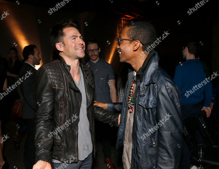 Stock Picture of Kyle Howard and UgandaProject's Griffin Matthews attend the 3rd Annual Witness Uganda Concert Presented by Siren Studios to Benefit UgandaProject on in Los Angeles, California