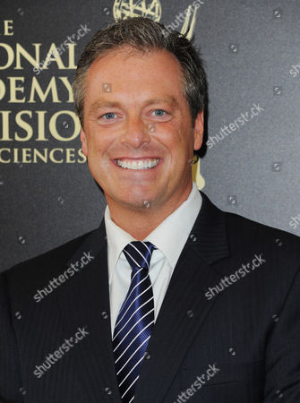 Todd Newton arrives at the 41st annual Daytime Emmy Awards at the Beverly Hilton Hotel, in Beverly Hills, Calif