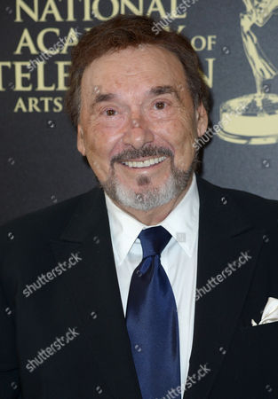 Joseph Mascolo arrives at the 41st annual Daytime Emmy Awards at the Beverly Hilton Hotel, in Beverly Hills, Calif