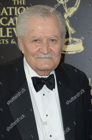 John Aniston arrives at the 41st annual Daytime Emmy Awards at the Beverly Hilton Hotel, in Beverly Hills, Calif